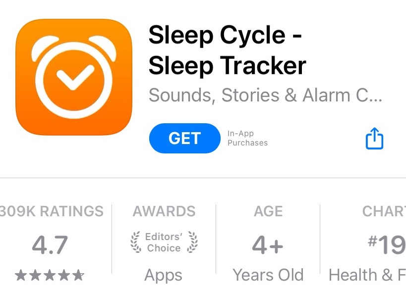 sleepcycle - best sleep tracking apps